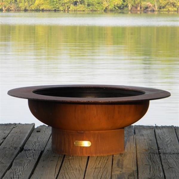 Saturn Fire Pit Art
