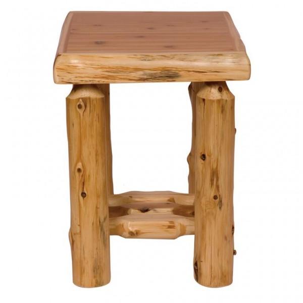 Fireside Traditional Cedar Open Nightstand