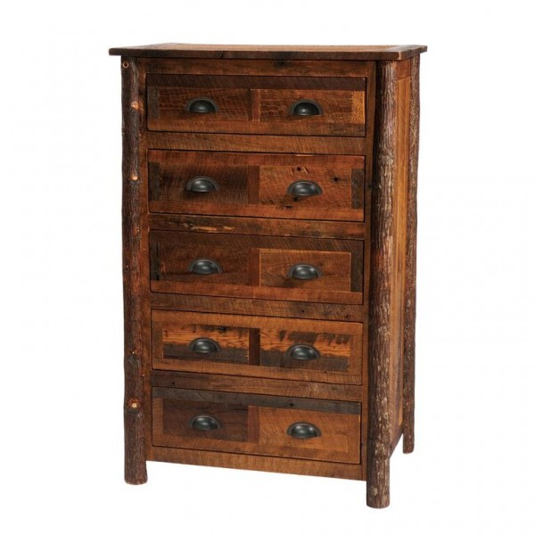 Fireside Lodge 5 Drawer Chest Wine Country Accents