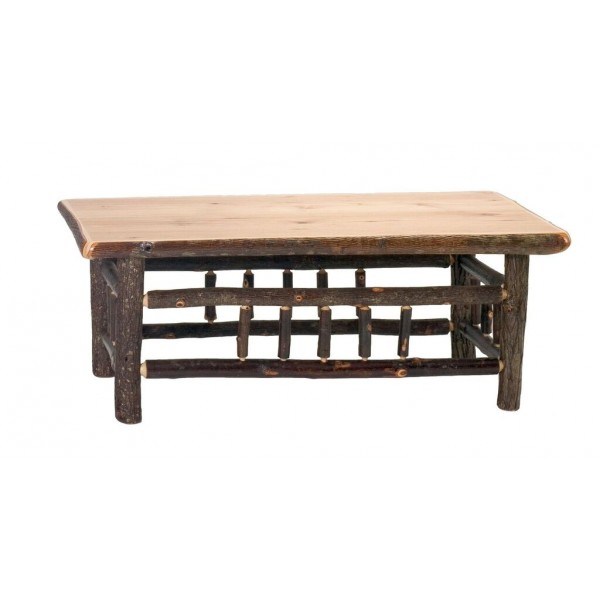 Hickory Twig Rectangle Coffee Tables