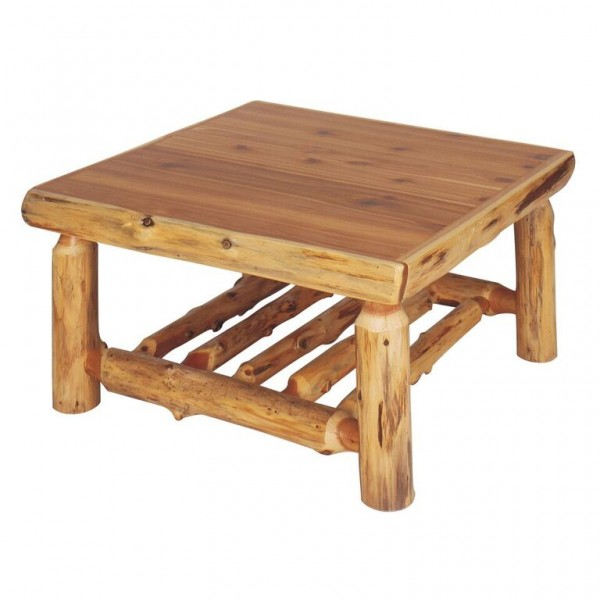 Northern White Cedar Coffee Tables Fireside