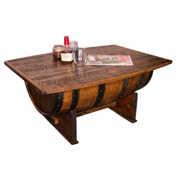 Whiskey Barrel Coffee Table Napa East Wine Country Accents