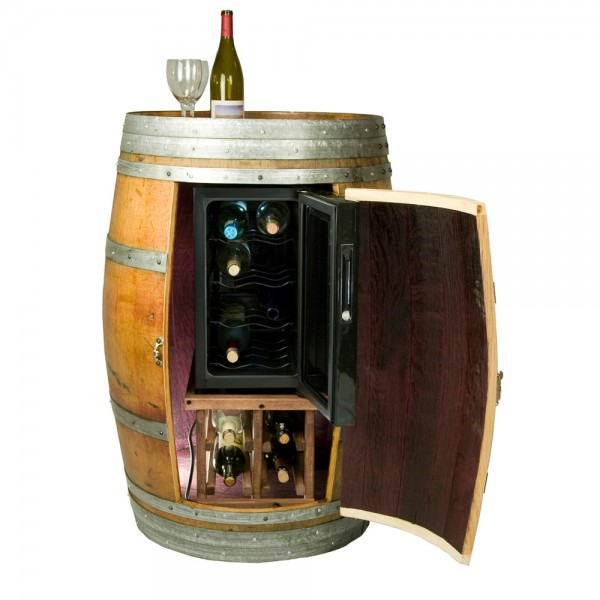 Wine Barrel Cabinet Wine Chiller