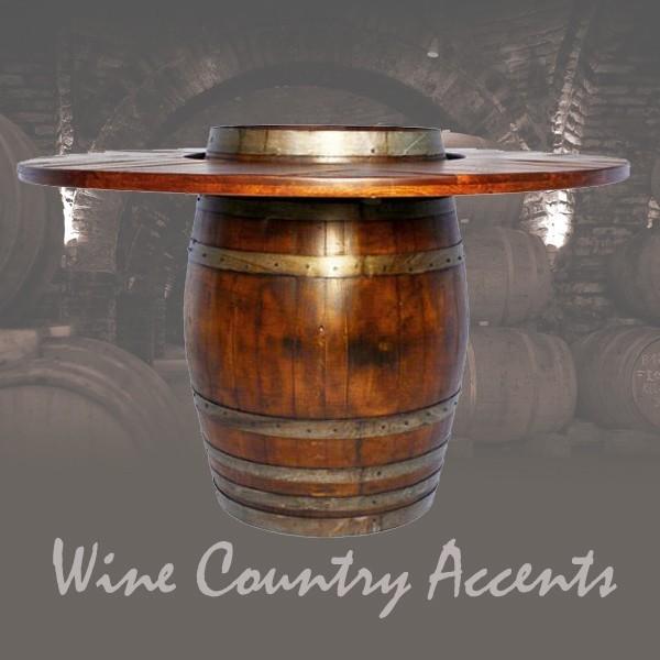 Wine Barrel Bistro Table Bar Stool Set 2 Day Designs